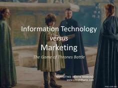 Marketing vs. IT: The Internet of Things Battle