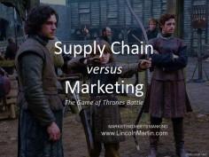 Supply Chain vs Marketing: A Distribution Problem
