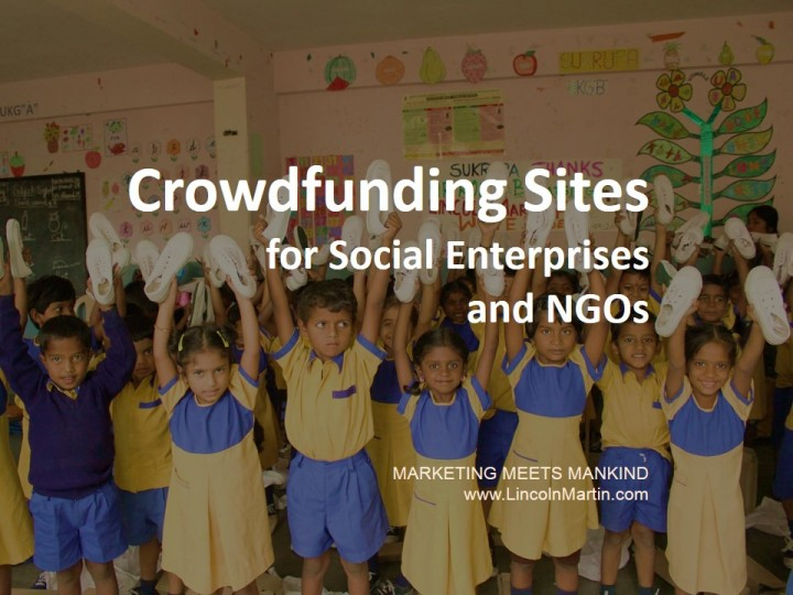 List of Crowdfunding Sites for Social Enterprises and NGOs
